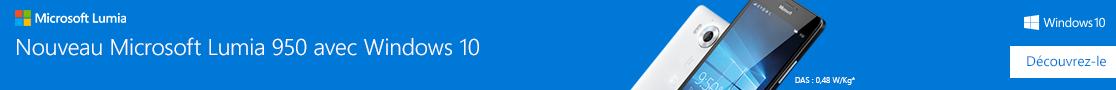 Lancement du Microsoft Lumia 950