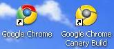 Chrome dev/stable