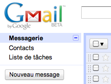 Modification de Gmail