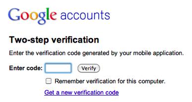 Processus de vérification de Google Apps
