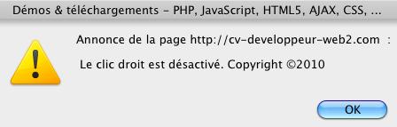 Clic droit sur https://www.blog-nouvelles-technologies.fr