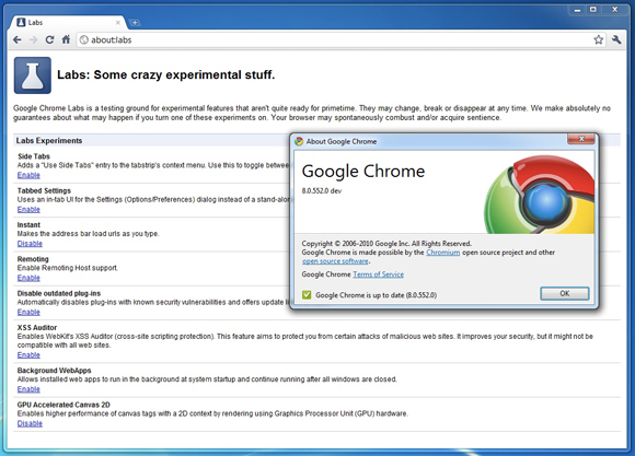 Laboratoires de Chrome 8