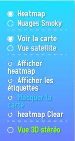 Modification de l'affichage de la carte