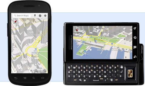 Top 10 des applications Google (Google Apps) en 2010 - Google Maps