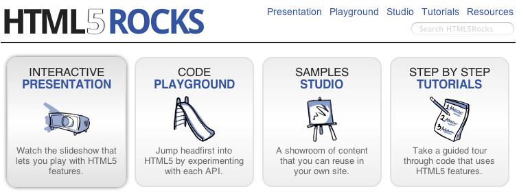 Interview de Google et retour sur leurs Workshops à LeWeb'10 - HTML5Rocks