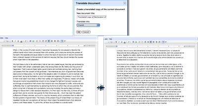 Interview de Google et retour sur leurs Workshops à LeWeb'10 - Traduction en temps-réel sur Google Docs