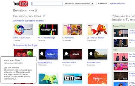Interview de Google et retour sur leurs Workshops à LeWeb'10 - YouTube Shows