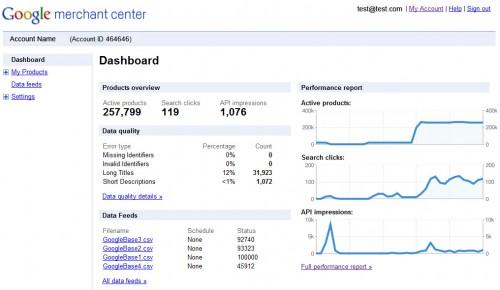 Interview de Google et retour sur leurs Workshops à LeWeb'10 - Google Merchant Center