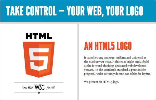HTML5 ou HTML ? La question se pose ! - Logo HTML5