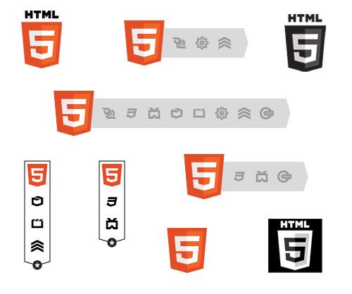 HTML5 ou HTML ? La question se pose ! - Badges HTML5