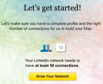 Réseaux sociaux : LinkedIn Maps permet aux utilisateurs de visualiser leurs relations professionnelles - 50 contacts obligatoires dans InMaps