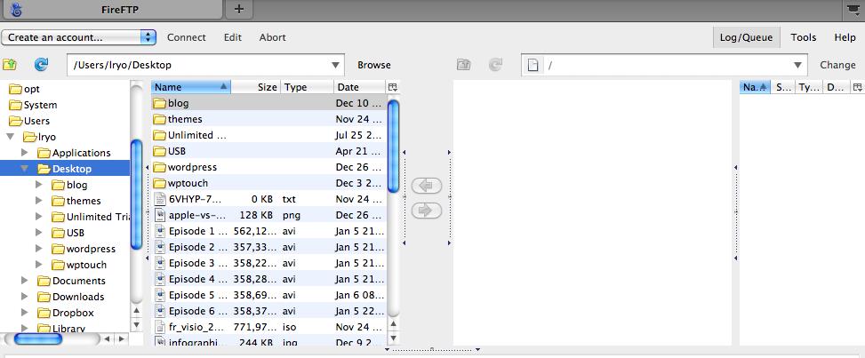 Top 10 des plugins de Firefox pour les développeurs Web - Transfert d'un fichier avec Fire FTP