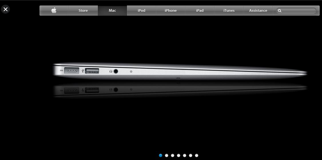 Le site d'Apple reçoit un lifting HTML5 - Zoom sur les produits