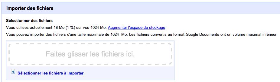 Google Docs change de peau, inspiré fortement de Gmail - Tweetdeck - Importation de fichier dans Google Docs