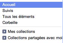 Google Docs change de peau, inspiré fortement de Gmail - Tweetdeck - Volet Collections