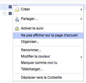 Google Docs change de peau, inspiré fortement de Gmail - Tweetdeck - Masquer de la page d'accueil des documents
