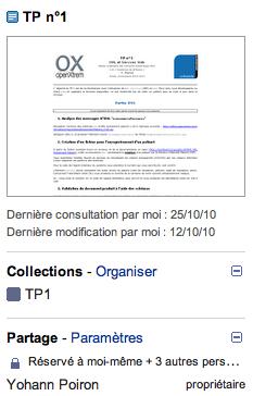 Google Docs change de peau, inspiré fortement de Gmail - Tweetdeck - Plus de détails pour vos fichiers