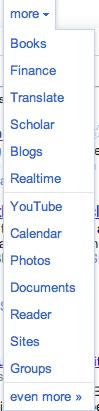Google, une nouvelle barre de navigation accessible au public - Nouveautés de la barre