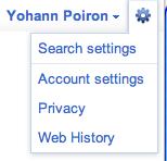 Google, une nouvelle barre de navigation accessible au public - Options de configuration