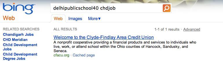 Google a largement de quoi attaquer Microsoft ! On appelle ça se faire piéger... - Résultat de delhipublicschool40 chdjob dans Bing