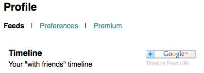 GTweet vous permet de lire votre timeline Twitter dans Google Reader - Ajouter flux tweet dans Google Reader