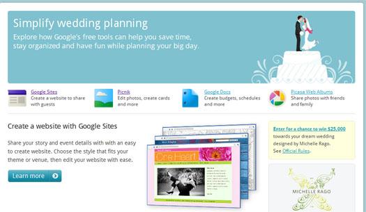 Un mariage en perspective ? Faite appel à Google ! - Google Weddings
