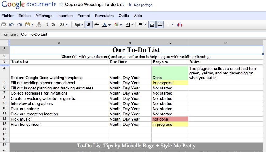 Un mariage en perspective ? Faite appel à Google ! - To-Do List