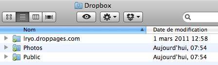 DropPages vous permet de créer un site Web à l'aide de votre compte Dropbox, avec zéro compétences HTML - Choix du nom de mon site