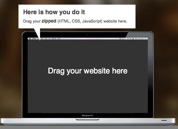 DropPages vous permet de créer un site Web à l'aide de votre compte Dropbox, avec zéro compétences HTML - Staticloud