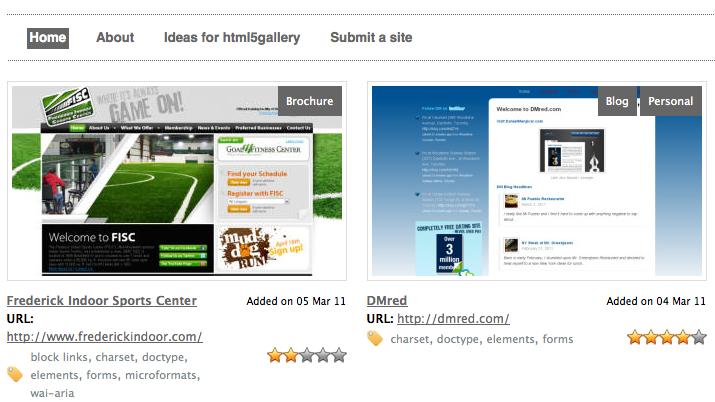 Les 10 meilleures ressources pour apprendre HTML5 - Galerie HTML5