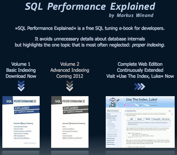 Présentation des performances SQL - SQL Performance