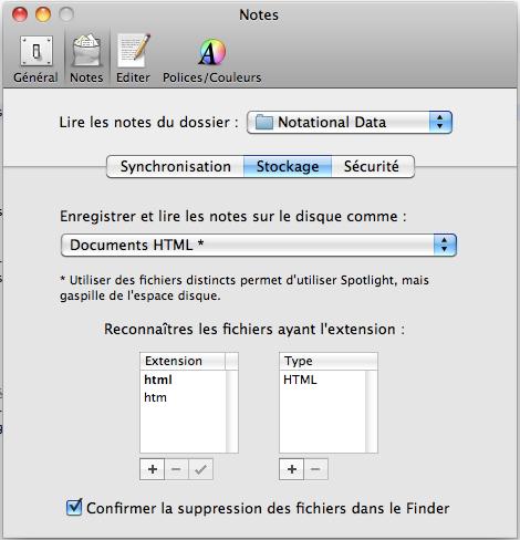 12 applications Mac pour synchroniser vos données via votre Dropbox - Notational Velocity