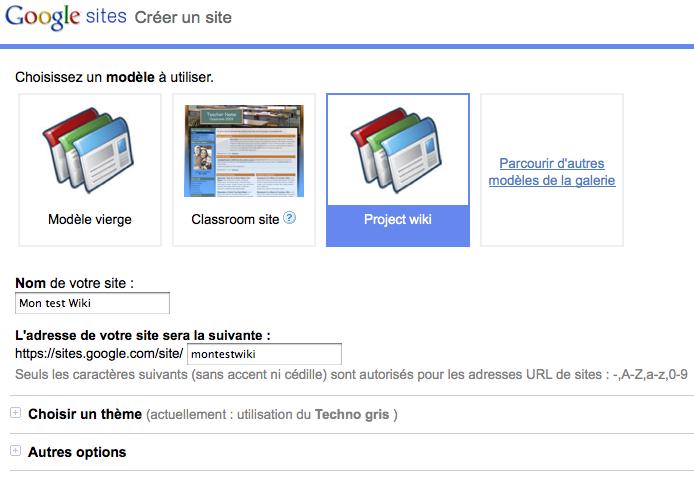 Comment faire pour utiliser Google Sites en tant que Wiki et collaborer sur des projets - Wiki dans Google Sites