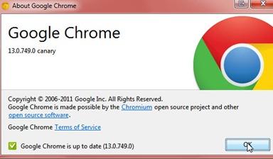 Google lance Chrome 11 et Chrome13 - Sortie de Chrome 13