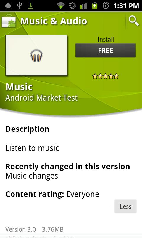 Google Music va sortir prochainement, fuite de l'Appli Android - Appli Music Android