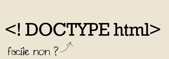 Ce qu'il faut faire et ne pas faire pour écrire au mieux du code CSS et HTML - Doctype