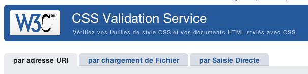 Ce qu'il faut faire et ne pas faire pour écrire au mieux du code CSS et HTML - Toujours valider CSS
