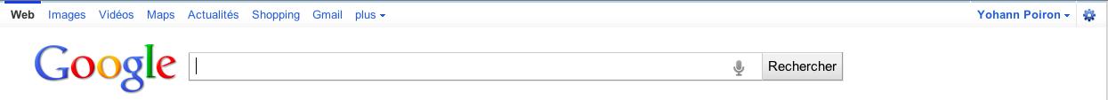 Google expérimente la recherche vocale sur Google.com