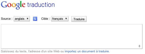 Google expérimente la recherche vocale sur Google.com - Google traduction