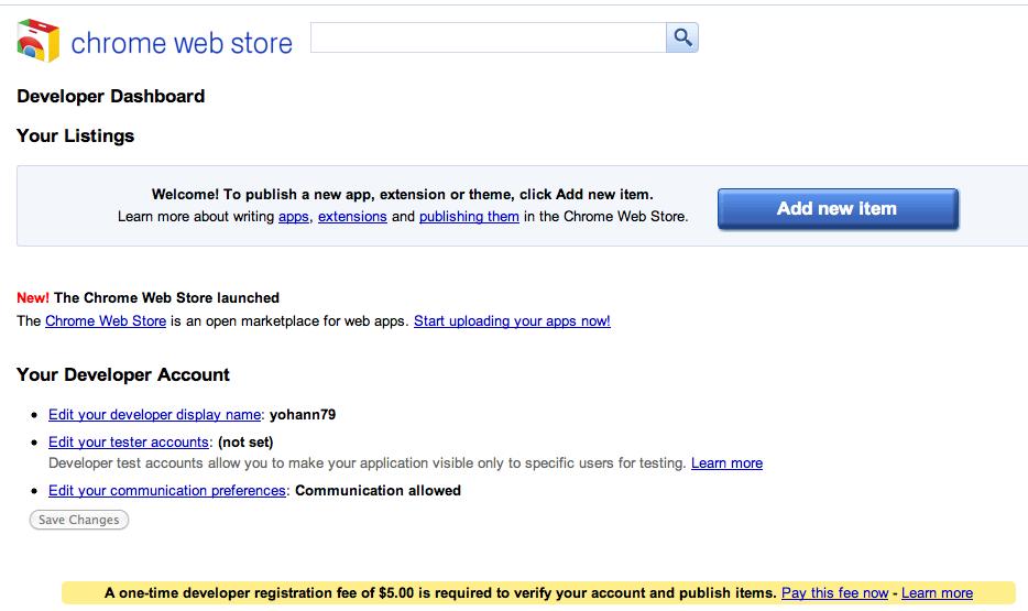 Google I/O : Ce qu'il faut savoir sur la deuxième journée - Google Chrome Web Store