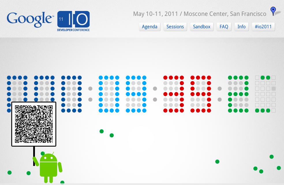 Les développeurs sont rassemblés ce mardi à San Francisco pour la Google I/O 2011 - Retransmission en direct sur Google