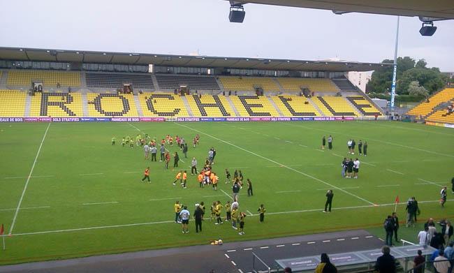 Mon retour sur le livetweet Orange de la dernière journée de Top 14 : Stade Rochelais - Bayonne -  Rencontre jeunes
