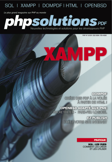 PHP Solutions : Mai 2011 – XAMPP - Publication sur dompdf