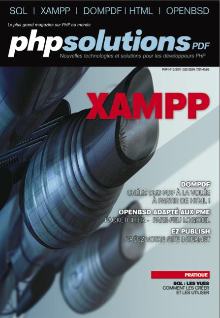 PHP Solutions : Mai 2011 – XAMPP - Publication sur dompdf