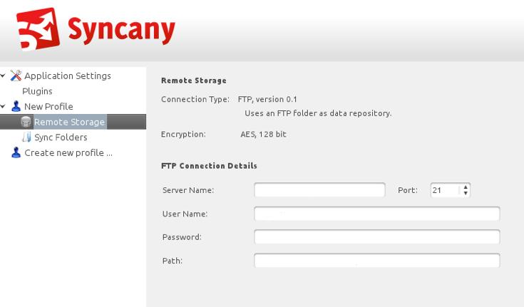 Syncany : Une alternative à Dropbox supportant de nombreux types de stockage - Choix du type de stockage