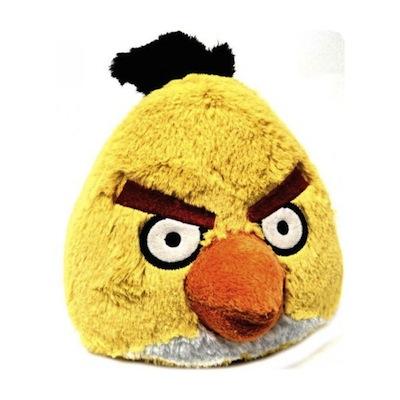 Anniversaire J7 - Une peluche Angry Birds et un Kdo Geek offerts par Gadgetorama et Kdo-USB - Peluche Jaune Angry Birds