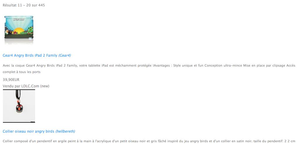 Comment utiliser l'API de Google Shopping en PHP - Affichage des résultats