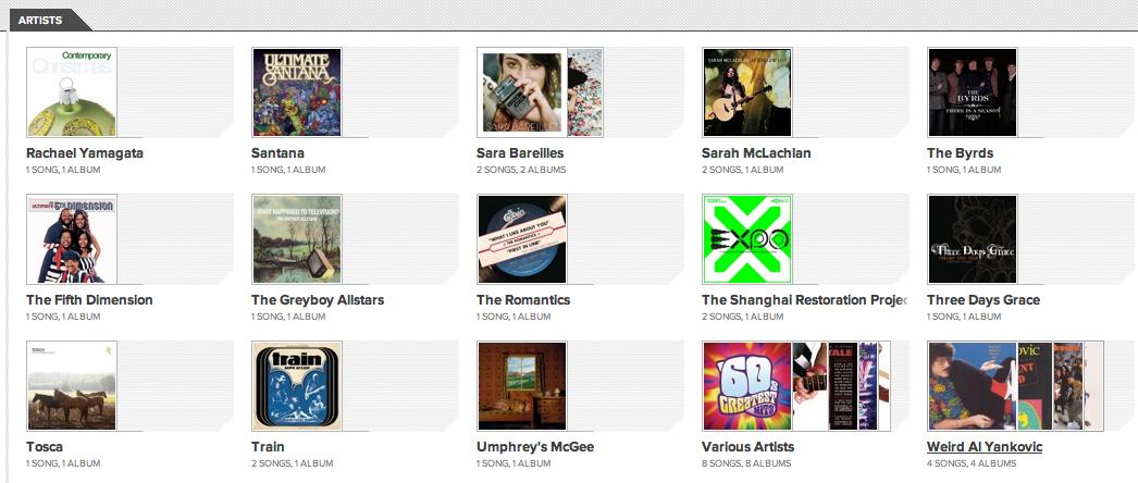 J'expérimente Google Music ! - Multi albums