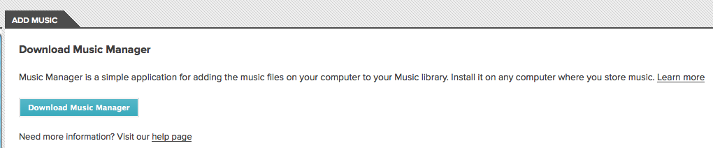 J'expérimente Google Music ! - Music Manager