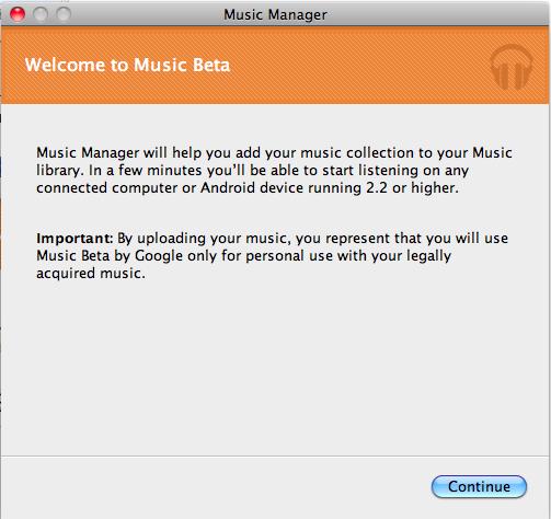J'expérimente Google Music ! - Stockage musique